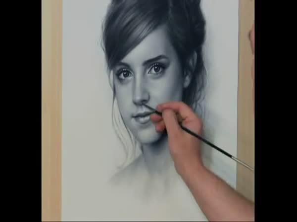 Kresba - Emma Watson