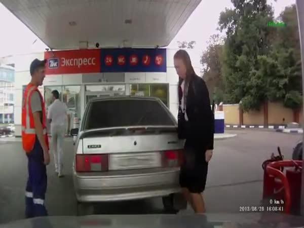 Ruská řidička