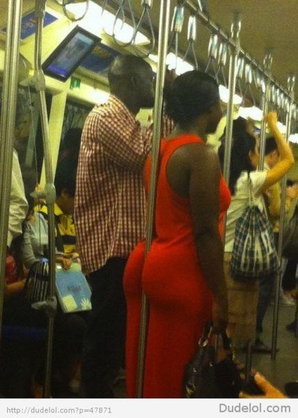 GALERIE - Výstřední lidé ve vlaku
