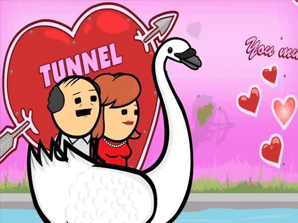 Kyanid & Štěstí - Tunel lásky