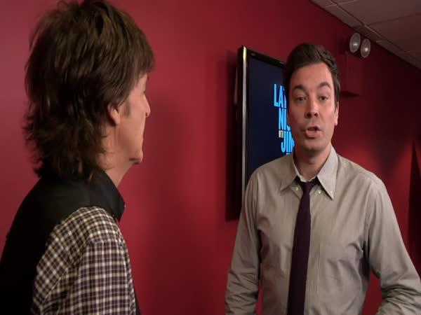 Výměna akcentů - Jimmy Fallon a Paul McCartney