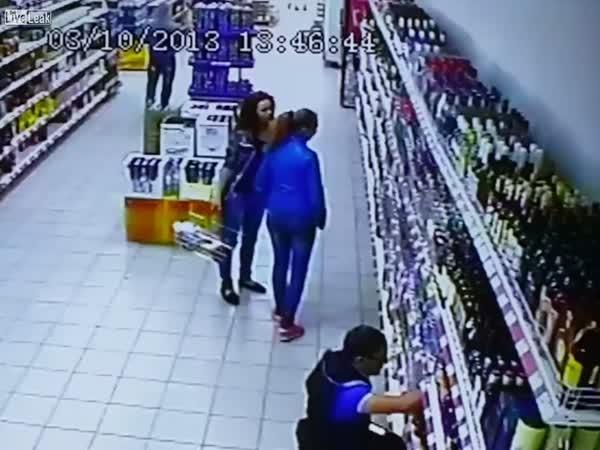 Šok v supermarketu