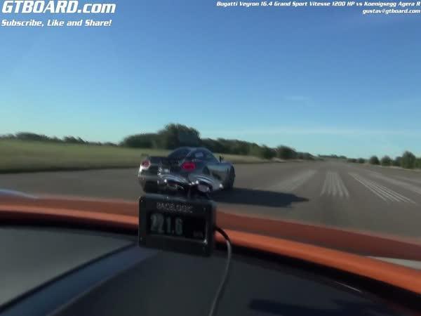 Bugatti Veyron SS vs. Koenigsegg Agera R