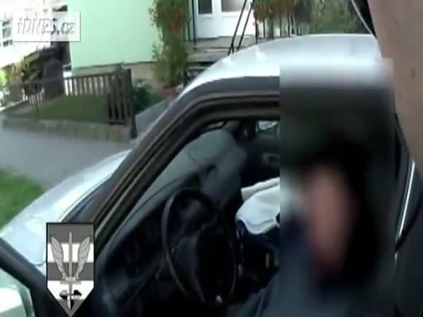 Česká policie - Opilá řidička s malým dítětem
