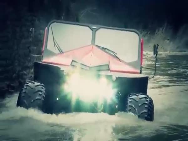 Rumunské záchranářské vozidlo