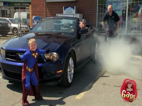 Nachytávka - Dětský Superman