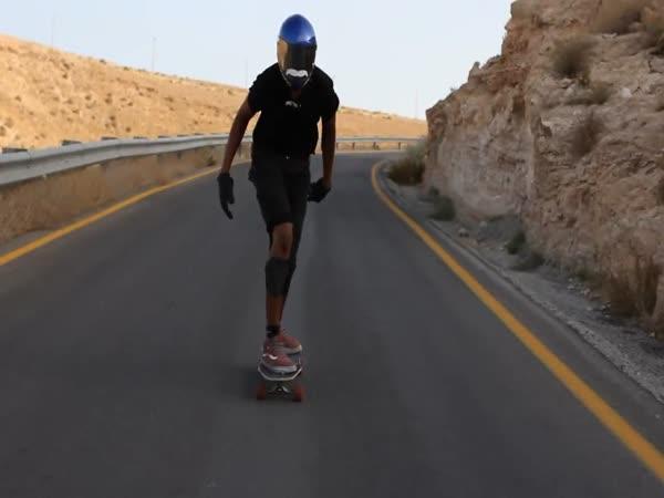 Longboard - nehoda