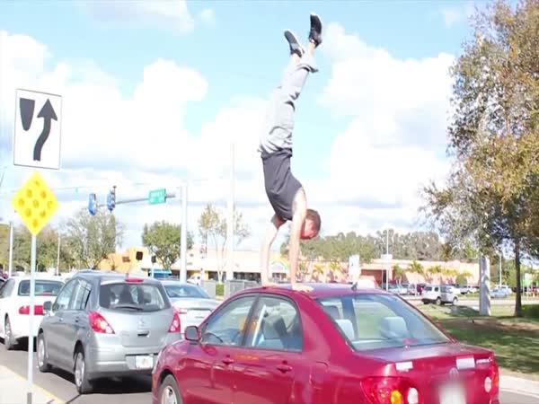 Carkour aneb parkour na autech