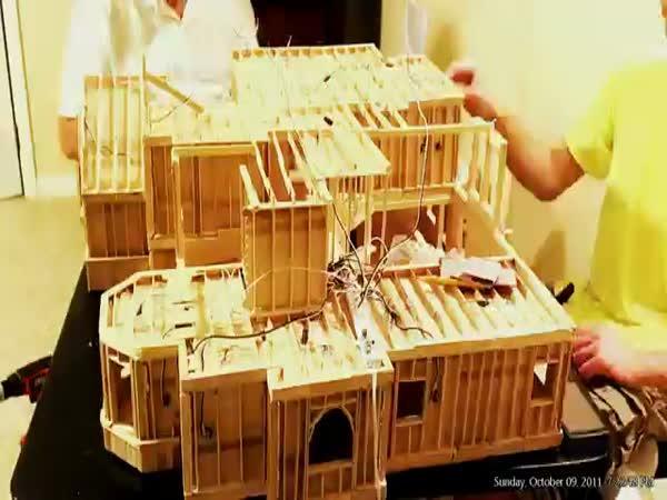 Timelapse - Stavba domu