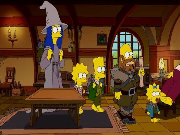 Simpsonovi - Cesta do Středozemě