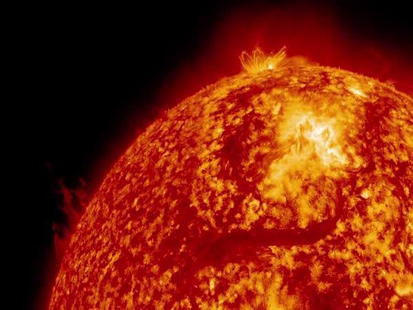 Záběry Slunce od NASA