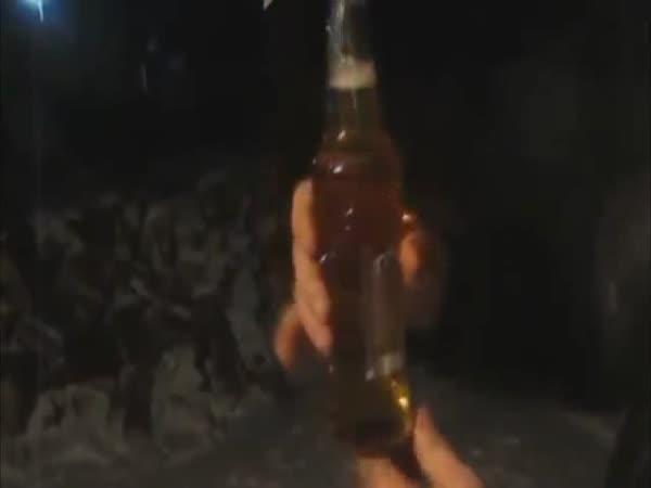 Pití piva na Sibiři