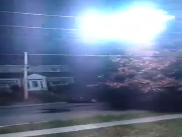 Ohnivá koule v Montrealu