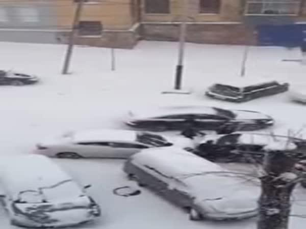 První sníh - 11. listopadu sv. Martin