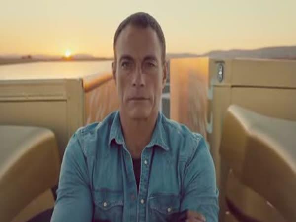 Van Damme a Volvo
