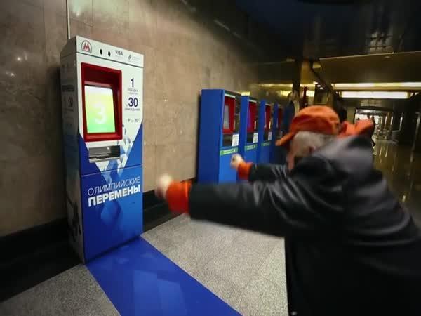 Rusko - Lístek do metra