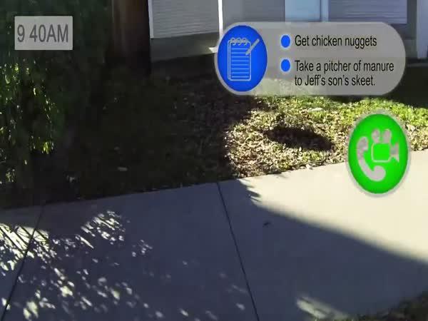 Život s Google Glass [CZ Titulky]
