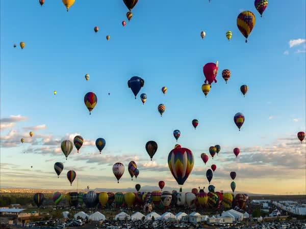Festival balónů [timelapse]