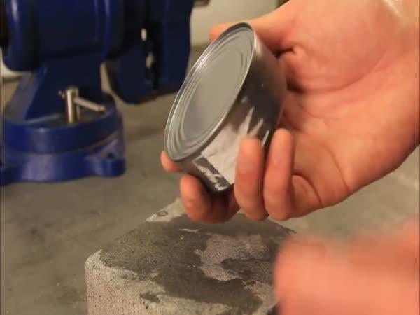 NÁVOD - otevření konzervy