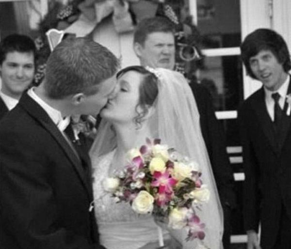 GALERIE - Nejšílenější svatební fotky