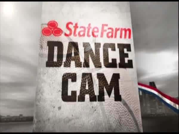 Dance Cam aneb ochranka pobavila stadion