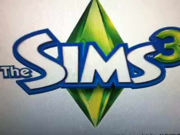 The Sims v reálném životě - židle