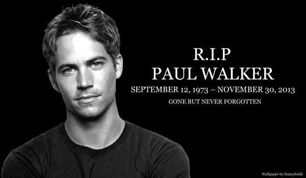 Paul Walker - vzpomínkové video