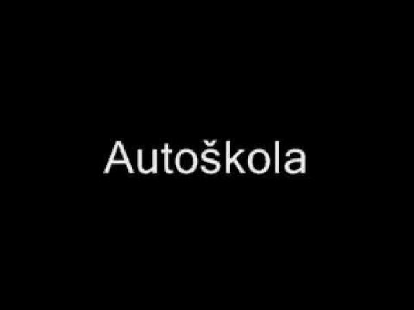 Autoškola - záznam povedené jízdy