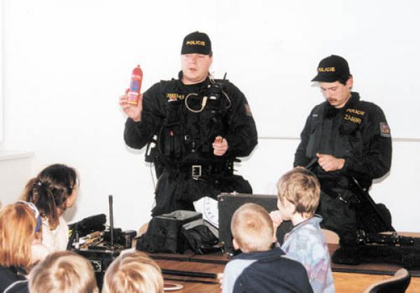 Policie - policejní hlášky
