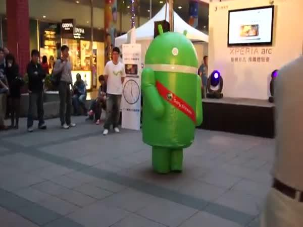Tančící Android
