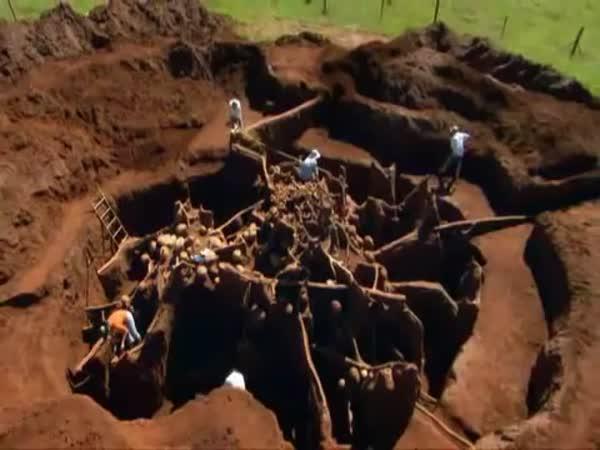 Obrovský podzemní komplex