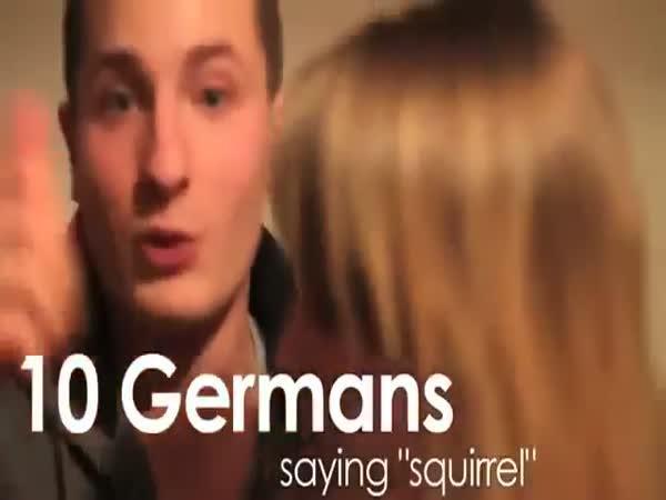 Němci se snaží vyslovit