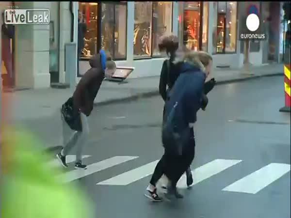 Chůze proti větru