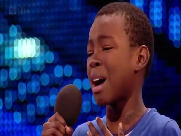 Pláč během vystoupení
