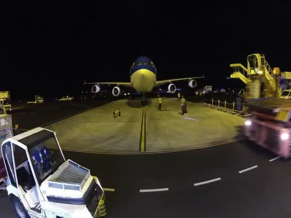 GoPro - Let letadlem