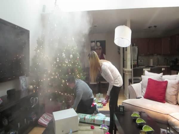 Nachytávka - Kouřící vánoční stromek