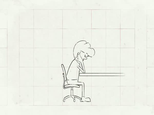 Animace - Jak správně sedět
