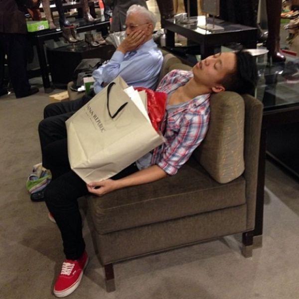 GALERIE - Přítelkyně na nákupech