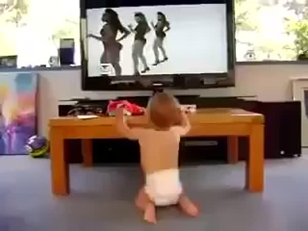 Tancující mimčo