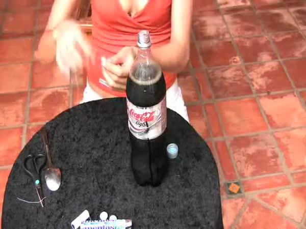 Pomsta - Mentos + Cola