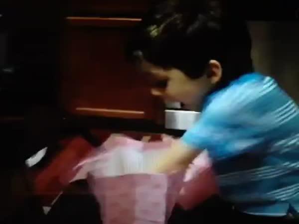 Upřímná radost z maličkosti