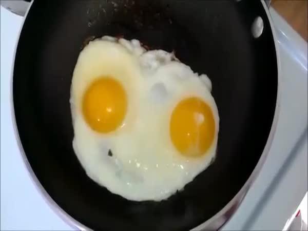 Rapující vajíčková omeleta