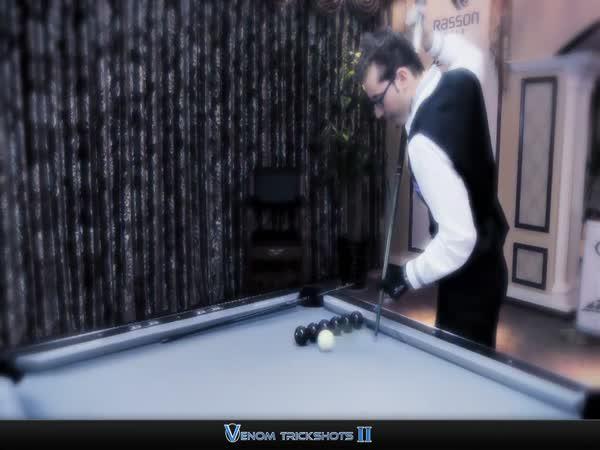 Borec - Billiardové triky #2