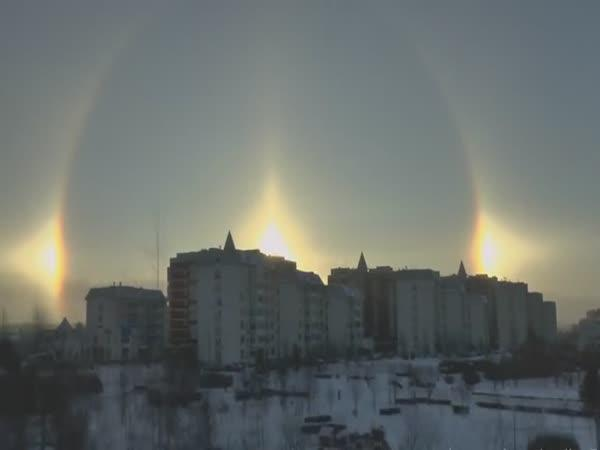 Iluze - Tři slunce nad Moskvou