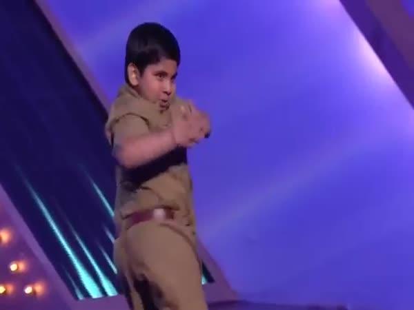 Indie má talent - tlustý chlapec