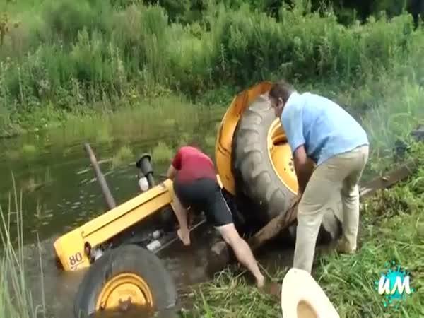 Největší blbci - traktoristé