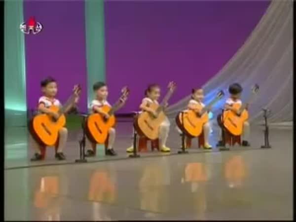 Neuvěřitelně šikovné korejské děti