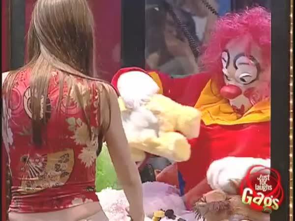 Nachytávka - Ďábelský klaun