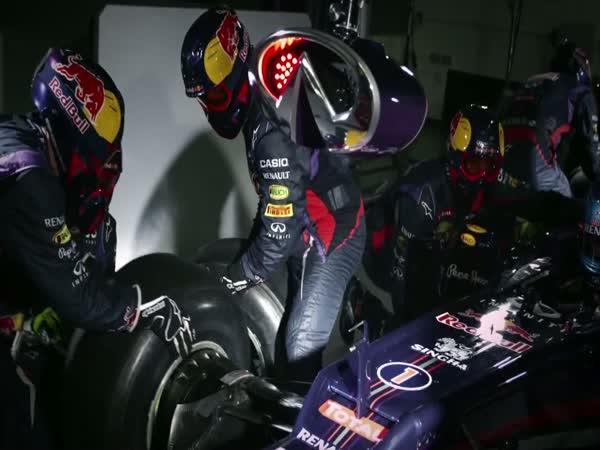 Formule 1 - rychlá práce v boxech