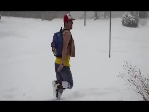 Atlanta ve sněhovém ohrožení